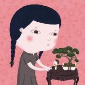 nathalie choux - le bonsaï