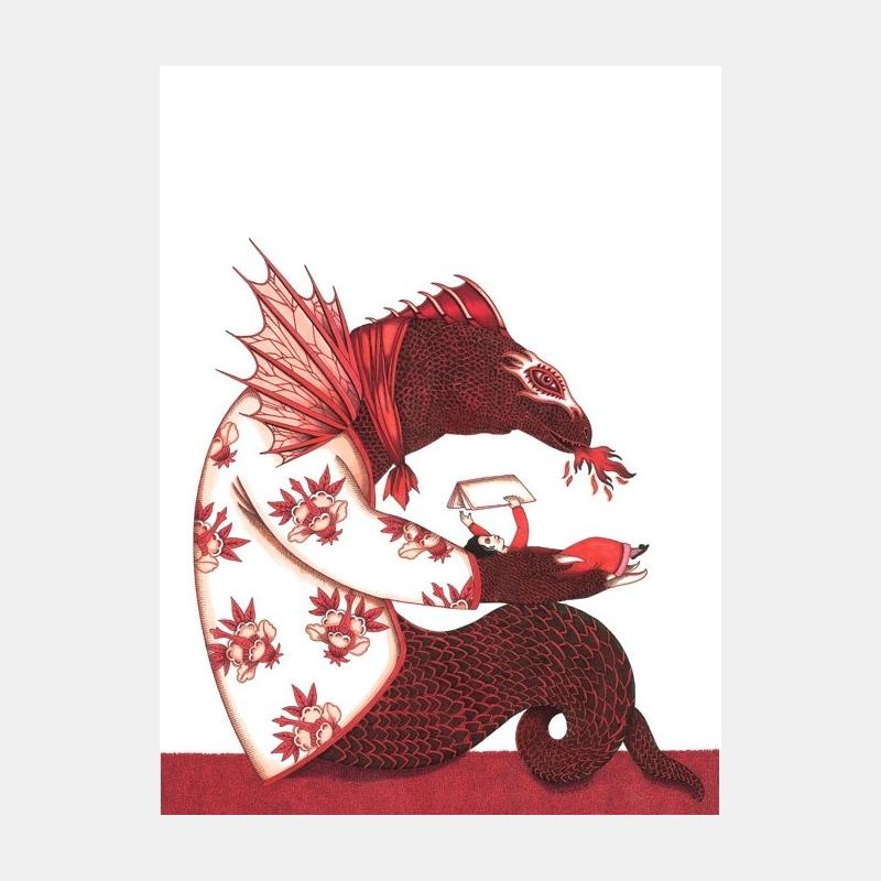 emmanuelle houdart - dragon