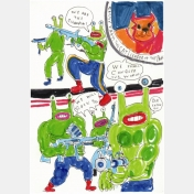 daniel johnston - pochette 9 cartes