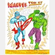 daniel johnston - marvel team up