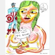 daniel johnston - wild about big boobs