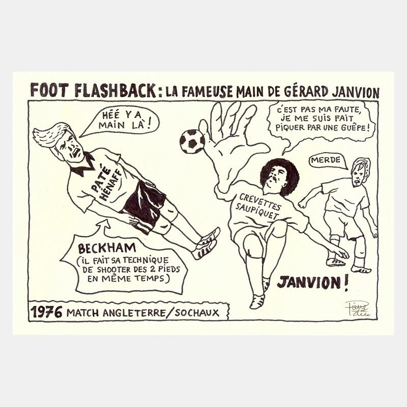 pierre la police - foot flashback