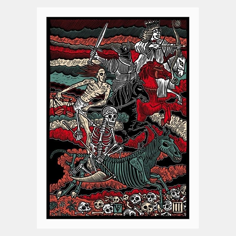 frédéric voisin - les 4 cavaliers de l'apocalypse