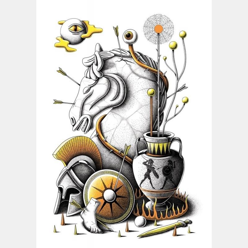 cheval de troie / nicolas barrome