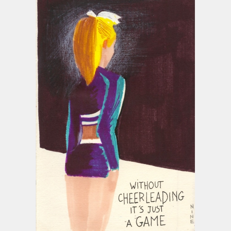 nine antico - without cheerleading it's just a game