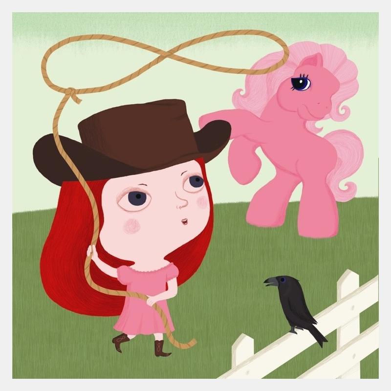 nathalie choux - cow girl