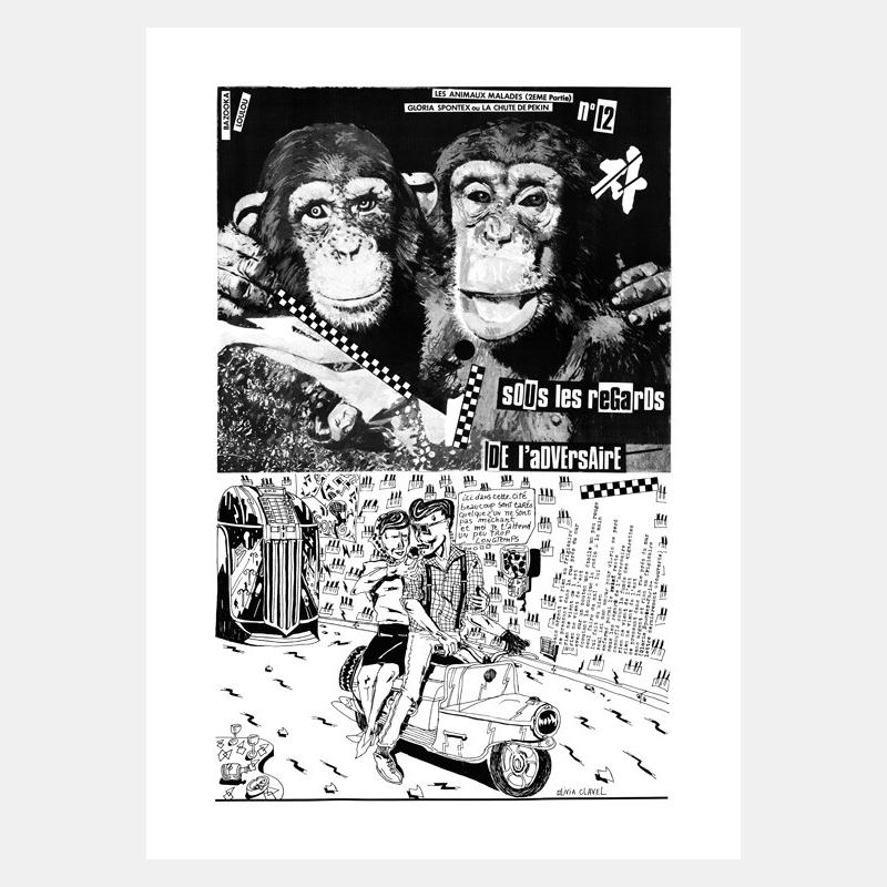 kiki & loulou picasso - les animaux malades / 5