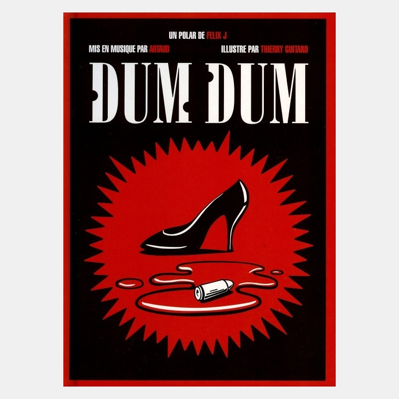 thierry guitard - dum dum / livre+cd