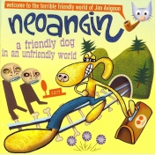 neoangin / a friendly dog in an unfriendly world