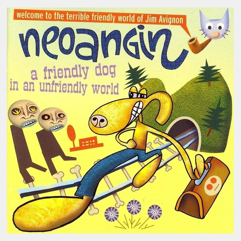 neoangin / a friendly dog in an unfriendly world
