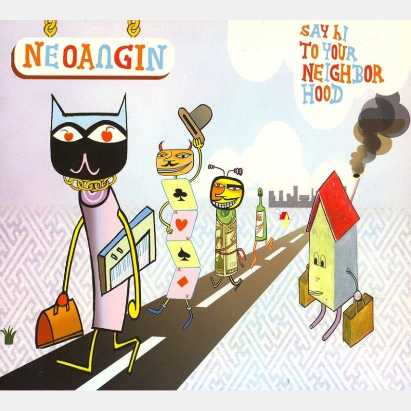 neoangin - say hi to your neighborhood / cd