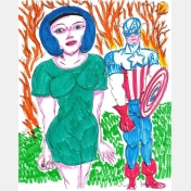 daniel johnston - captain & laurie