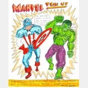 daniel johnston - marvel team up