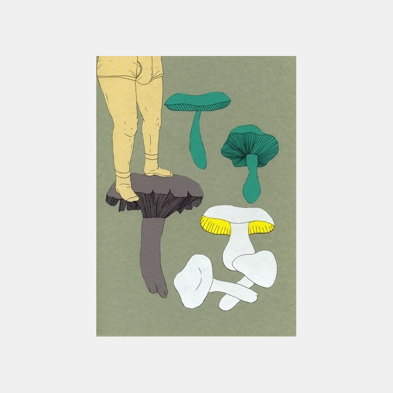 isabelle boinot - champignons etc... n°8