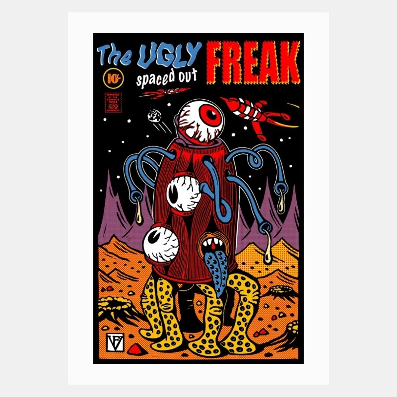 frédéric voisin - the ugly spaced out freak