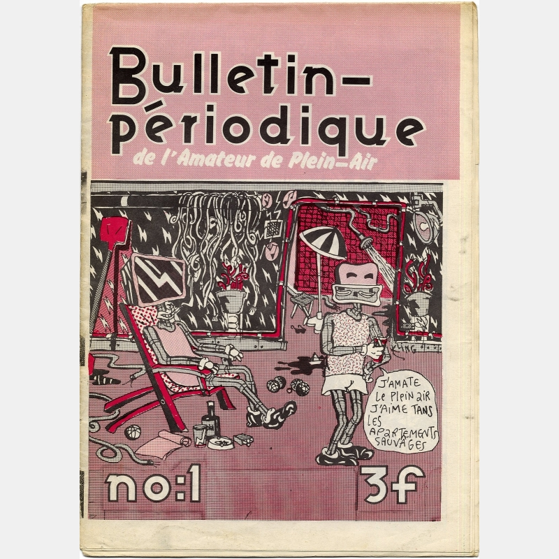 bazooka production - bulletin périodique n°1