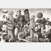 amandine urruty - set of 6 cards